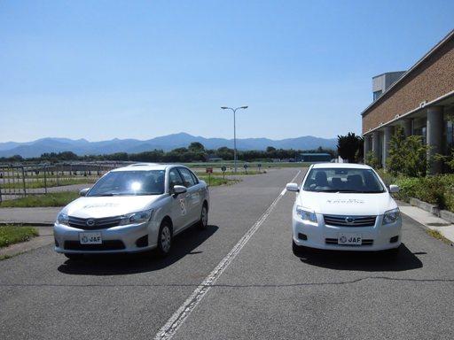 郡山運転免許センターで開催されたエコトレーニング福島