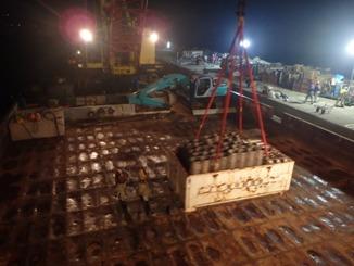 熱帯夜のなかでの山木工業の撤退作業