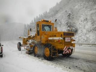今後も除雪や災害復旧などに随時早急に対応、国道の安全を確保してまいります