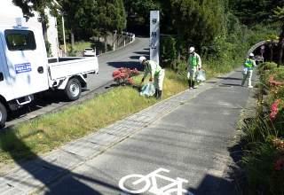 一斉清掃活動を全市民の協力を得て実施