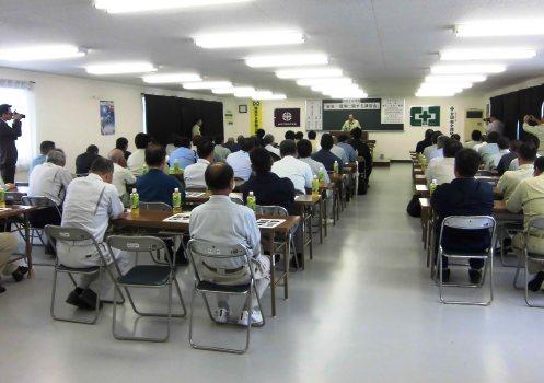山木工業における安全と環境に関する講習会