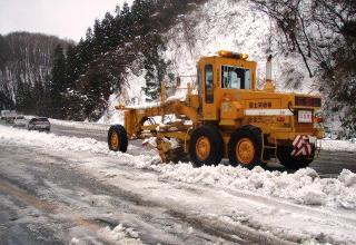平成28年1月国道49号線低気圧に伴う雪害