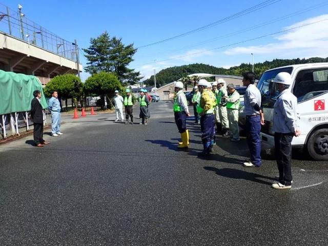 いわきをきれいにする市民総ぐるみ運動に参加する山木工業1