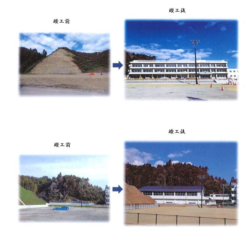 豊間中学校新校舎等「落成記念式典」に山木工業(いわき市)が参加6