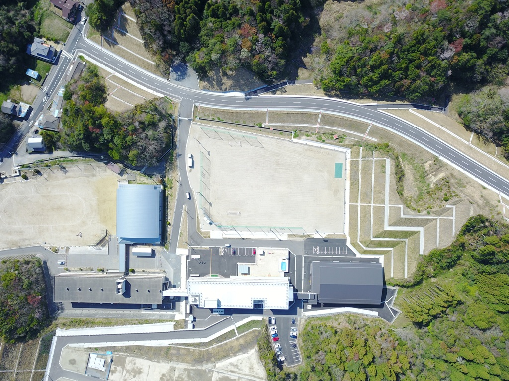 豊間中学校新校舎等「落成記念式典」に山木工業(いわき市)が参加3