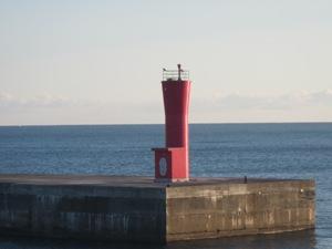 江名港・中野作港灯台設置作業2019年11月10